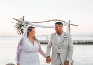 Real Wedding in Key Largo – Vanessa & Hector – Flamingo Package