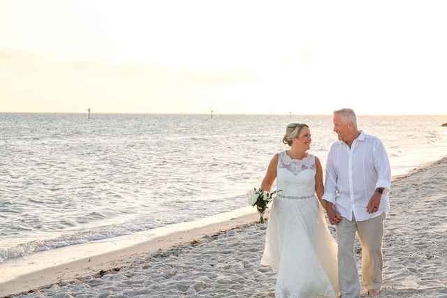 Real Wedding in Key West – Jennifer & Keith – Seashell Package