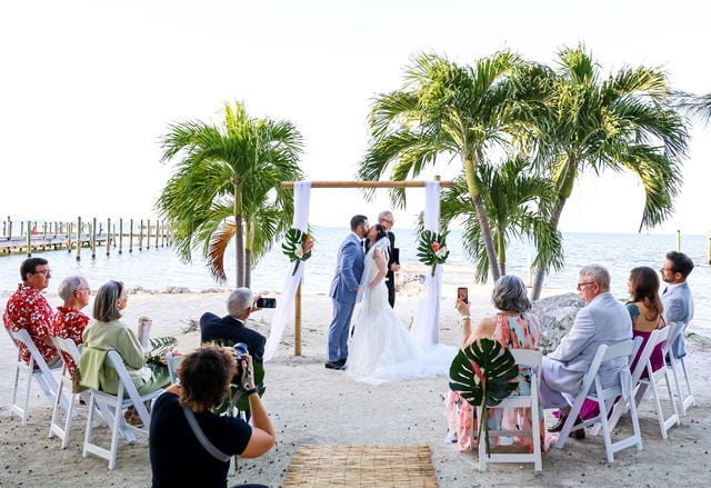 Real Wedding in Islamorada – Jacob & Amy – Seven Mile Package