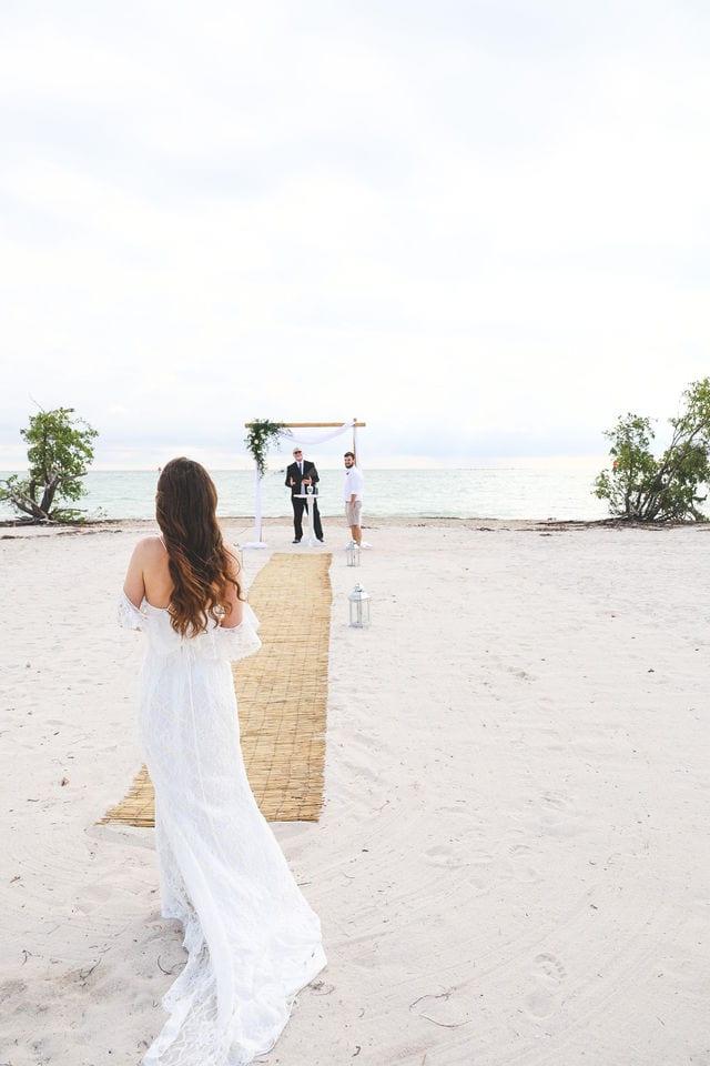Real Wedding at Sombrero Beach