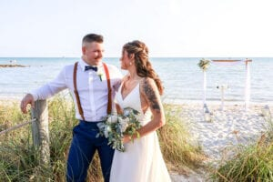Real Wedding in Key West – Jacqueline & Cody – Palm Package
