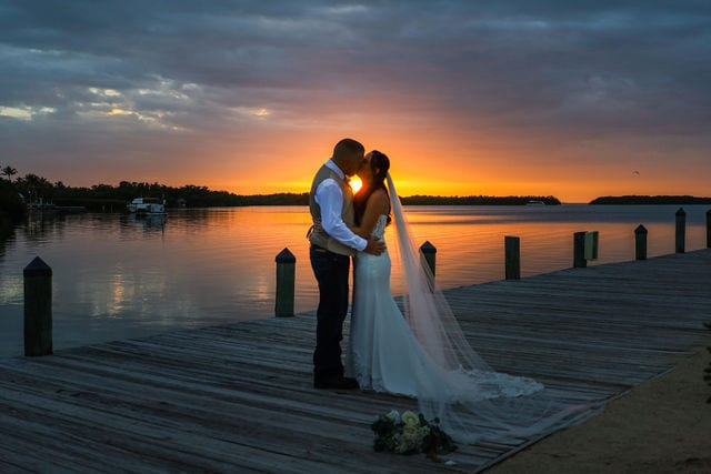 Real Wedding in Islamorada at the Islamorada Fish Company
