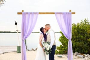 Real Wedding in Islamorada at the Islamorada Fish Company
