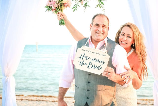 Real Wedding in Key West – Pamela & Joey – Hightide Package