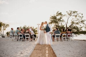 Real Wedding in Marathon at Sombrero Beach