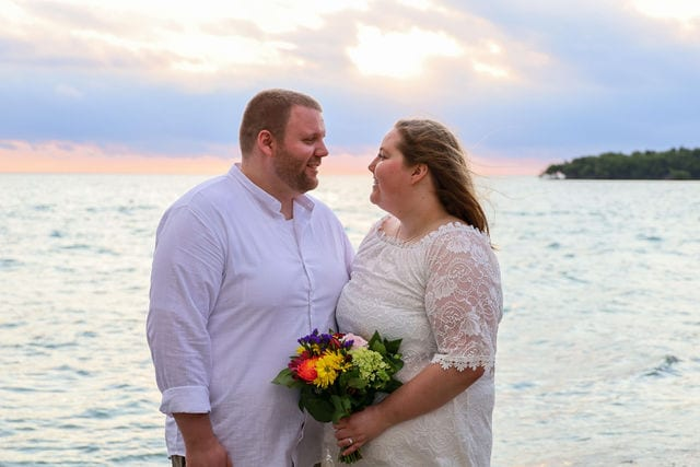 Check Out This Real Wedding in Marathon Florida in the Florida Keys