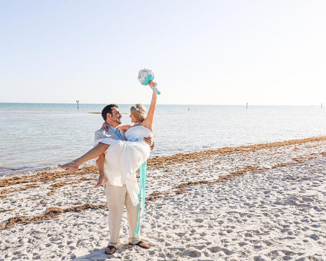 Real Wedding in Key West – Kendra & Paul – Mangrove Package