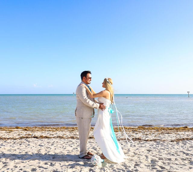 Real Wedding in Key West