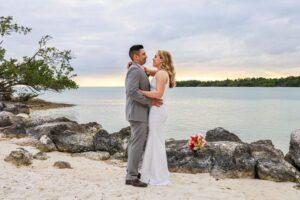 Real Wedding in Marathon – Erin & Christopher – Seashell Package