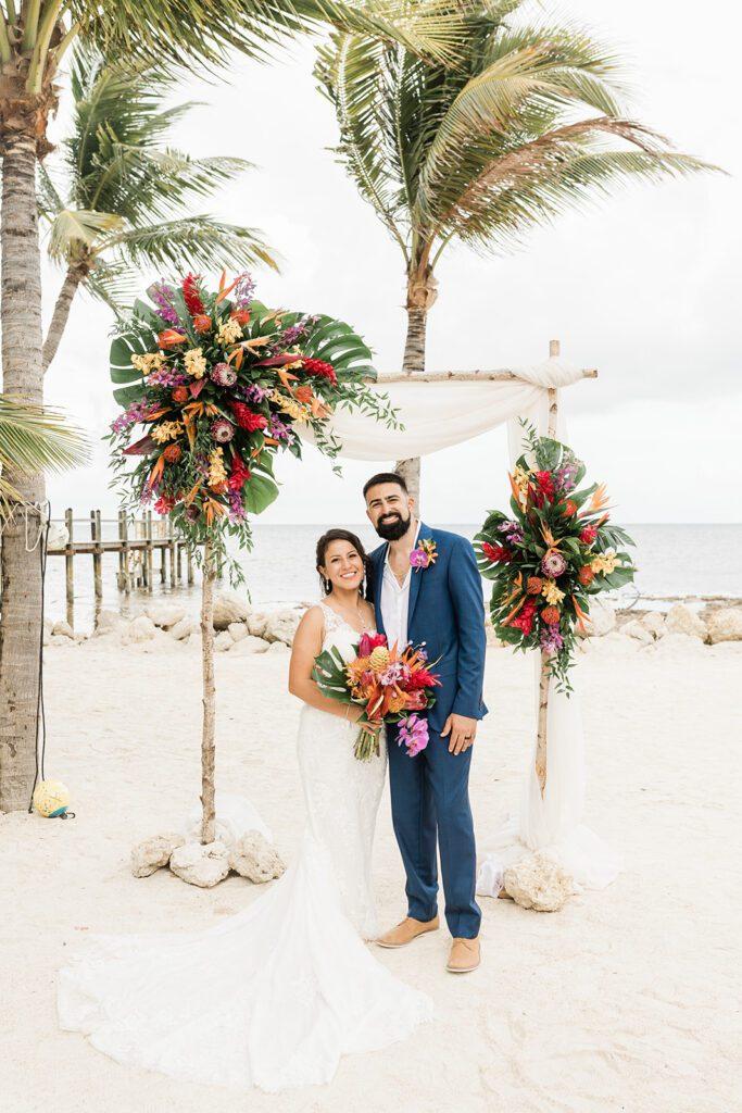 Real Wedding in Islamorada- DANIELLE & SEAN – Alligator Reef Package-