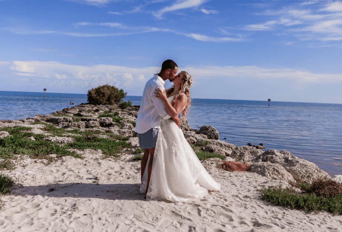 Real Wedding in Key West – Carleigh & Guy – Seven Mile Package