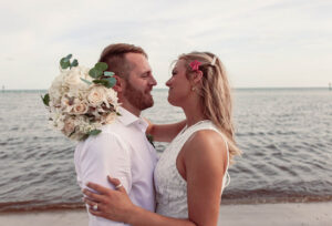 Real Weddings in Key West – Hannah and Alex – Flamingo Package